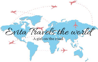 Evita Travels The World