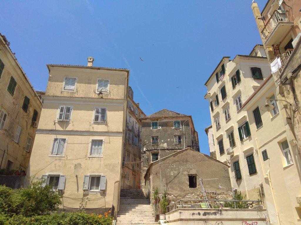 corfu-old town